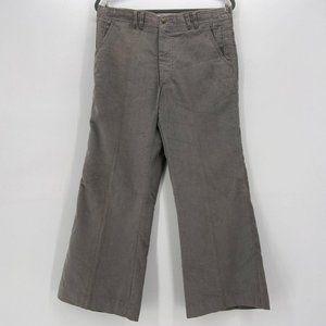 Vintage Levi's Panatela Slacks Wide Leg Corduroys